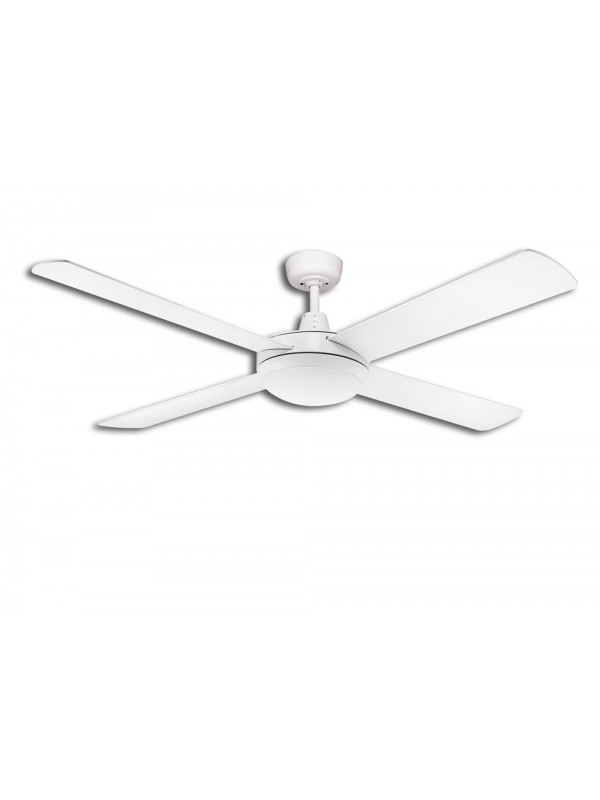 Martec Lifestyle 1300mm Fan White with Light 24w 5000k LED Dimmable 'Odessa'